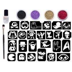 Glitter Tattoo Retro Kit - Stories Kit for adults- CsillámVilág