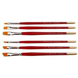 Face Painting Brush - 6 One-stroke Face Painting Brush Set - Glitterify Me