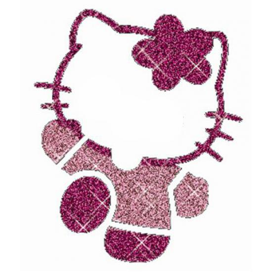 Hello Kitty 03 glitter tattoo stencil Girls  designs 3450ce957c