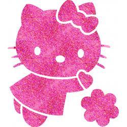 Hello Kitty 01 glitter tattoo stencil
