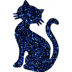 Cat 03 glitter tattoo stencil