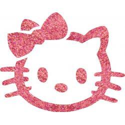 Hello Kitty 02 glitter tattoo stencil
